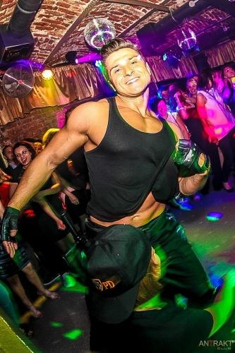 pokaz taneczny w klubie