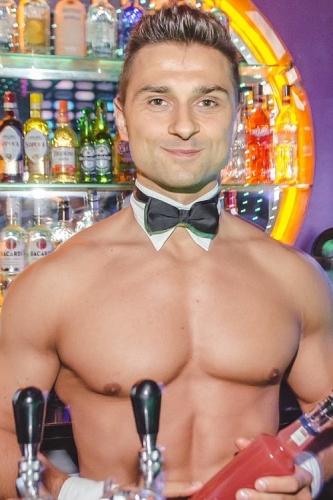 barman topless